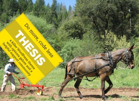 Thesis Pulls Like a Mule - and it Costs Less than a Bale of Hay